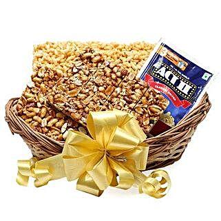 Lohri Treats Basket: Send Gift Baskets to Indore