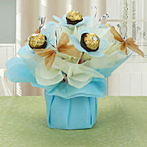 Love For Rochers: Chocolate Bouquet for Holi