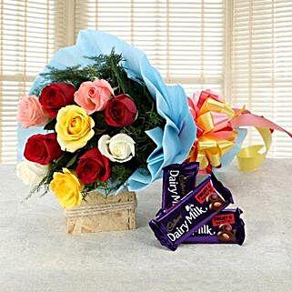 Love Gets Chocolaty: Boss Day Flowers