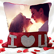 Love Special Personalized Cushion: Send Personalised Gifts to Varanasi