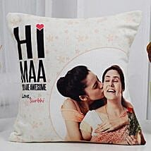 Love You Mom Cushion: Birthday Gifts for Mom