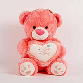 Love You Teddy Bear Peach: Teddy Day Gifts