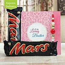Love you to Mars and back: Send Rakhi With Sweets to Guwahati