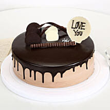 Love You Valentine Chocolate Cake: Chocolate cakes for birthday