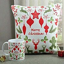 Lovely Cushion N Mug Combo: Christmas Gifts Your Family