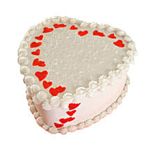 Lovely Heart Shape Cake: Cake Delivery in Thiruvalla