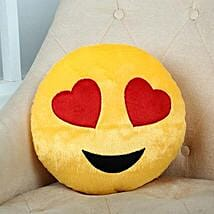 Lovely Hearts Yellow Cushion: Soft Toys Gifts
