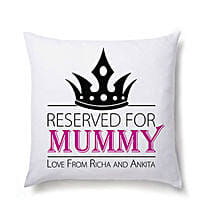 Lovely Personalized Cushion For Mom: Personalised Cushions Pune