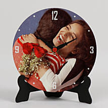 Lovely Personalized Table Clock: Gift For Women