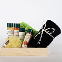 Luxurious Herbal Spa Hamper: Cosmetics & Spa Hampers for Anniversary