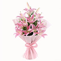 Luxurious Lillies: Valentine Flowers Coimbatore