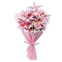 Luxurious Lillies: Send Birthday Gifts to Jamshedpur