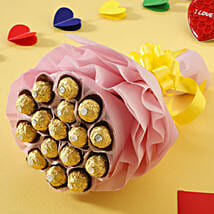 Luxury Ferrero Rocher: Chocolate Bouquet Delivery to Lucknow