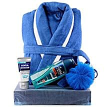 Man In Blue: Cosmetics & Spa Hampers for Anniversary