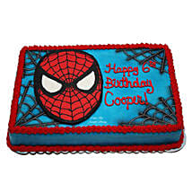 Mask of Spiderman Cake: Send Vanilla Cakes