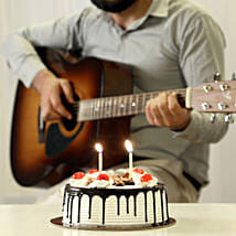 Melodious Black Forest Cake Combo: Cake Combos