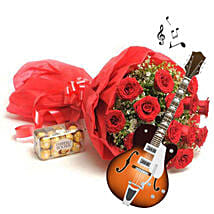 Melodious Expression of love: Send Flowers & Chocolates for Wedding