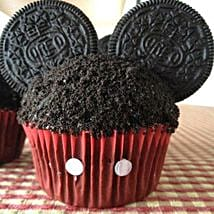 Mickey Mouse in a Cupcake:
