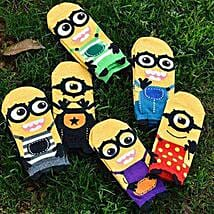 Minions Despicable Me Ankle Socks 5 Pairs: New Arrival Gifts