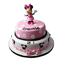 Minnie Mouse Birthday Cake: Black Forest Cakes