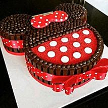Minnie Mouse Kit Kat Cake: 1st Birthday Gifts