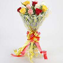 Marvellous Bouquet Of Roses: Christmas Gifts