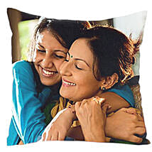 Mom n Me Personalized Cushion: Send Gifts to Bulandshahr