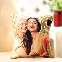 Mom n Me Personalized Cushion: Send Birthday Gifts to Thane