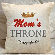 Moms Throne Cushion: Send Mothers Day Gifts to Tirupur
