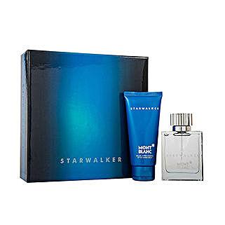 Mont Blanc Starwalker 2 Pcs Travel Set: Send Perfumes