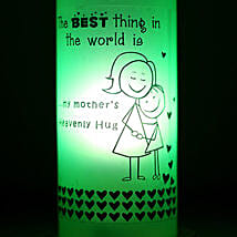 Mothers Hug Bottle Lamp: Home Decor to Hyderabad