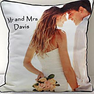 Mr n Mrs Personalized Cushion: Buy Cushions
