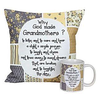 Mug and Cushion For Grandma: Gifts for Grandmother