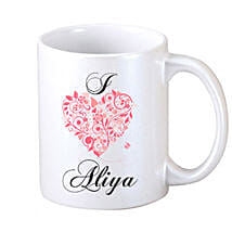 Mug For Your Lover: Send Personalised Mugs for Her