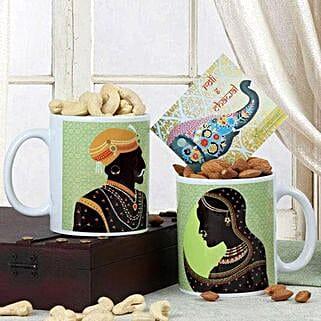 Mugs N Dry Fruits: Send Bhai Dooj Gifts to Faridabad