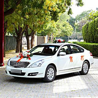 Multi-flower Car Decor: All Decoration Services