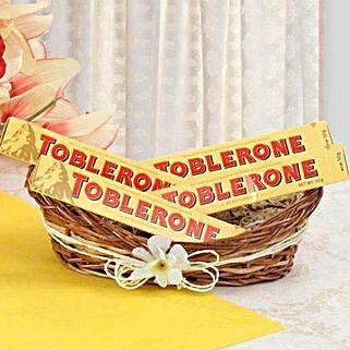 Munch With Toblerone: Send Bhai Dooj Gift Hampers