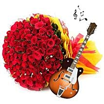 Music, Flowers and the Beloved: Flowers & Guitarist Service