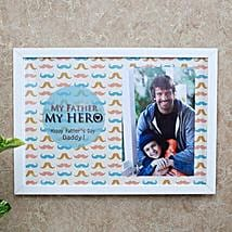My Father My Hero Photo Frame: Fathers Day Photo Frame Gifts