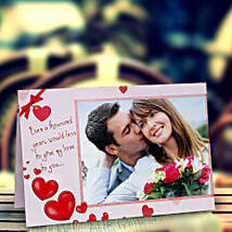 My Love Personalized Card: Send Personalised Gifts to Indore