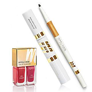 MyGlamm Must Have Eyes N Nails Makeup Kit: Raksha Bandhan Gift Hampers
