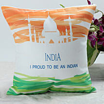 Nationality Cushion: Independence Day Gifts