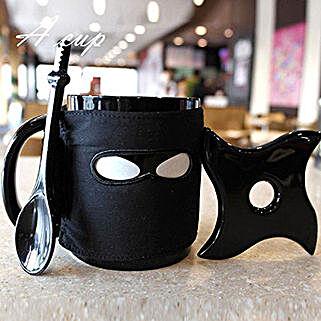 Ninja Black Coffee Mug: Gifts for Arians