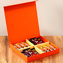 Orange Gift Box Of Chocolates: Send Thank You Gifts for Clients