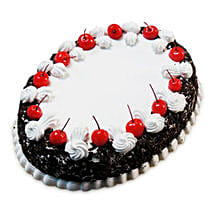 Oval Blackforest Spell 1kg Parent: Black Forest Cakes