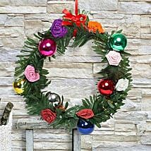 Paper Flower Christmas Wreath: Christmas Gifts  Mumbai