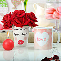 Passion Speaks On Valentine: Artificial Flowers