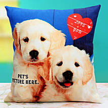 Pat the Pet Personalized Cushion: Personalised Cushions - Love