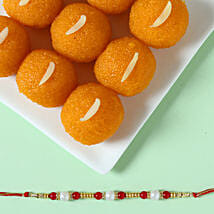 Pearl Rakhi & Moti Choor Laddu: Send Rakhi to Sholapur