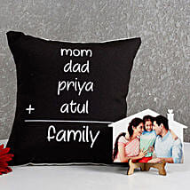 Perfect Family Combo: Mothers Day Personalised Cushions